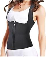 Ursexyly Sauna Body Suit, Shoulder Waist Trainer Hot Sweat Shirt for Fitness