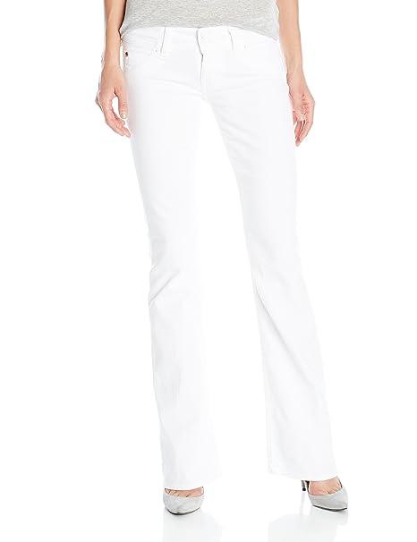 Amazon.com: Hudson pantalón de jean corte pata de ...