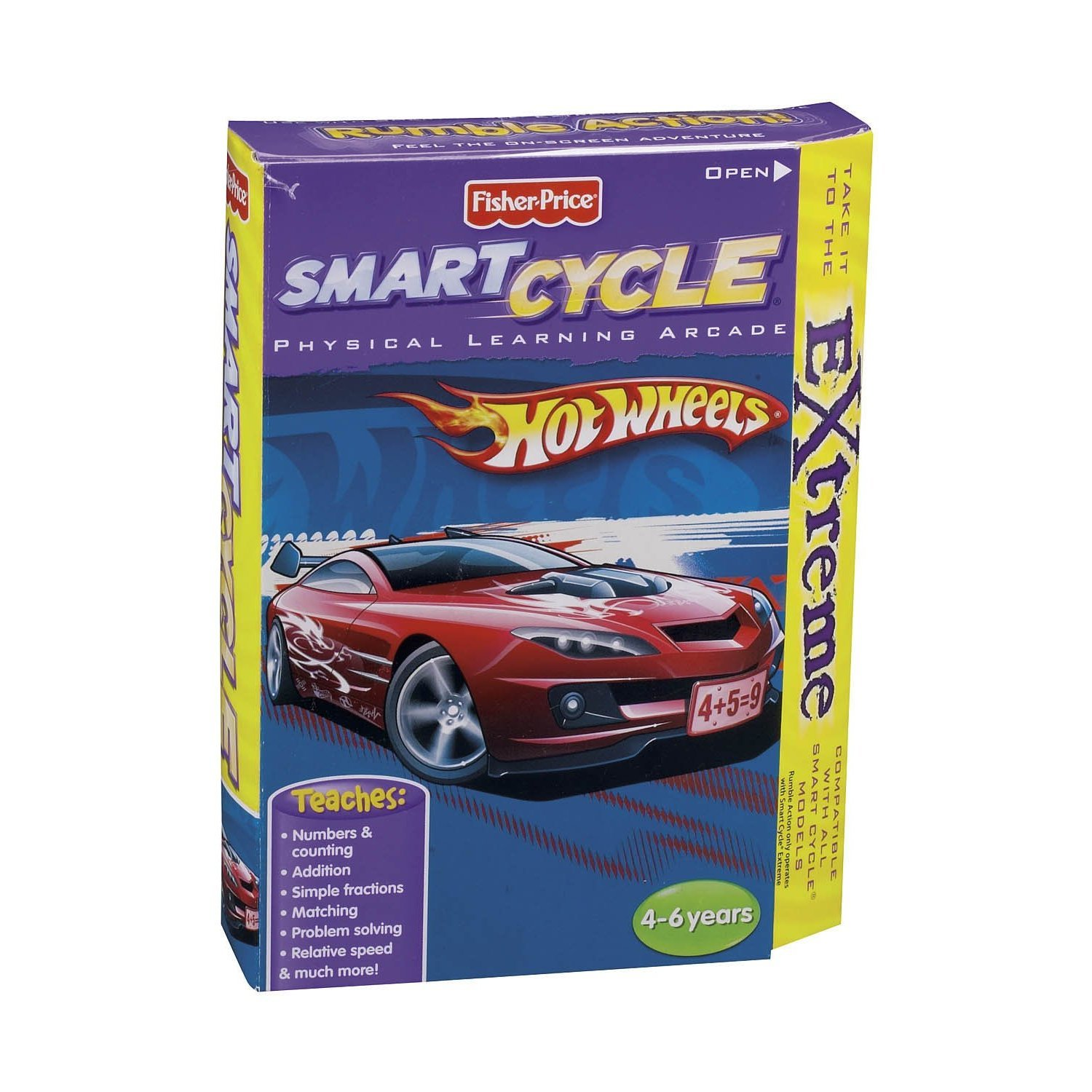 Fisher-Price Smart Smart Smart Cycle Extreme Software: Hot Wheels 611d87