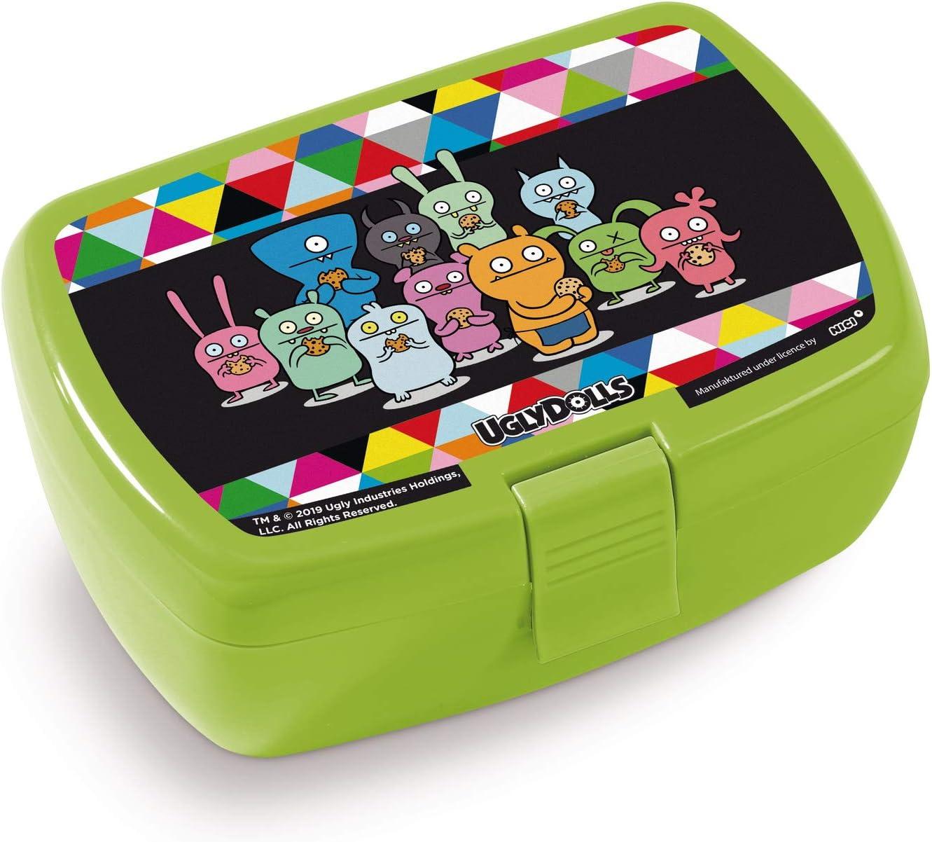 Nici 42955 Lunch Box Ugly Dolls 17 x 12 x 6.8 cm Multi-Coloured