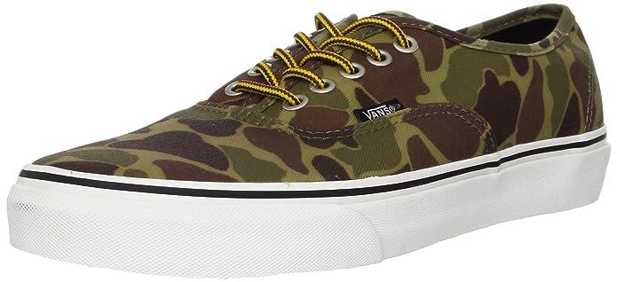 Vans Authentic Sneaker Unisex Erwachsene Grün Camouflage