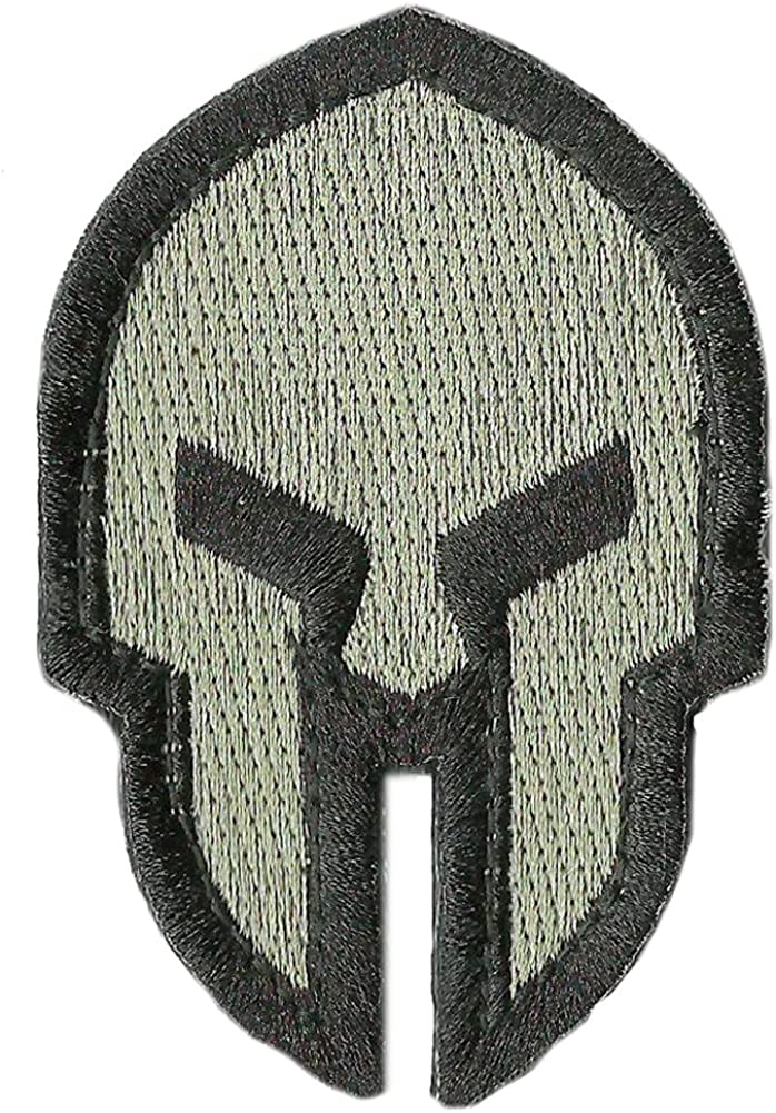 Punisher Skull Green /& Gray Digital Camo Pattern PVC Hook Back Patch Lot 2