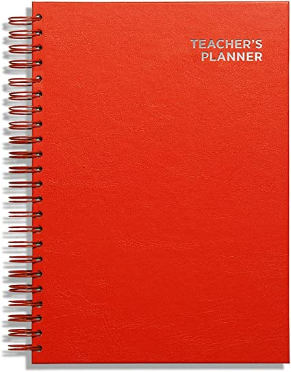 Pirongs A4 Teachers Planner 9 Lesson Purple-Metric Edition