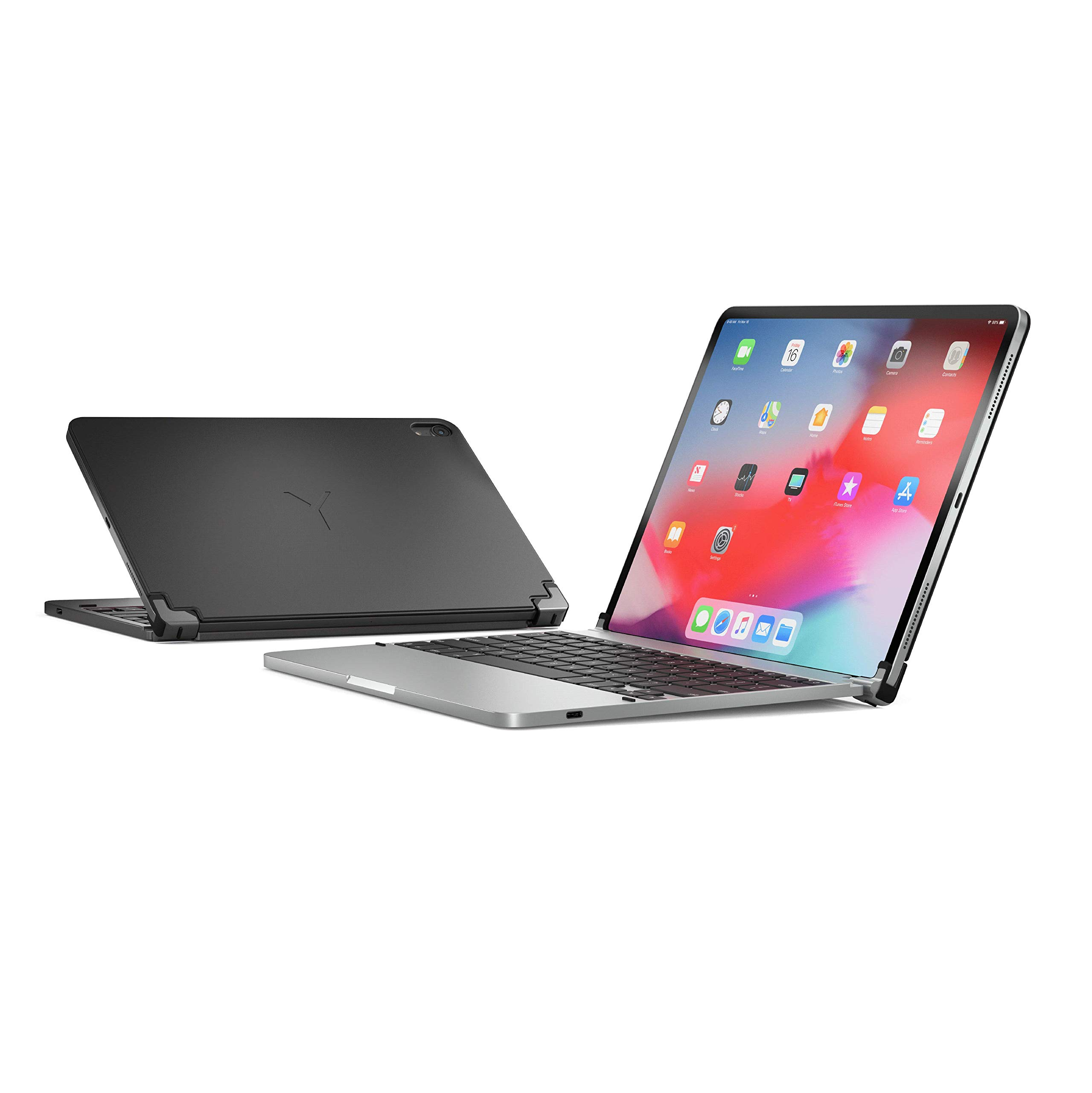 Brydge Pro 11.0 Keyboard for 11.0-inch iPad Pro 3rd Generation 2018 Model | Aluminum Wireless Bluetooth Keyboard with Backlit Keys | Long Battery Life | (Space Gray) by Brydge (Image #6)