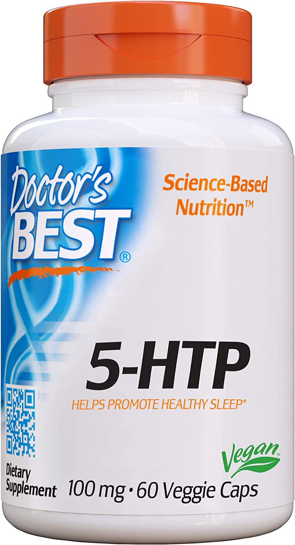 DOCTOR/'S BEST 5-HTP Stimmung Schlaf 100mg 180 Veg Kapseln SUPER PREIS
