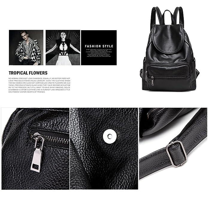 645fbe2abf88 Amazon.com: Sdinaz Women Small Backpack Soft PU Leather Fashion ...