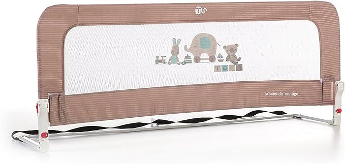 50 x 30 x 150 cm Innovaciones Ms Nido 3007 Beige Claro Barrera para cama de 2 alturas Abatible