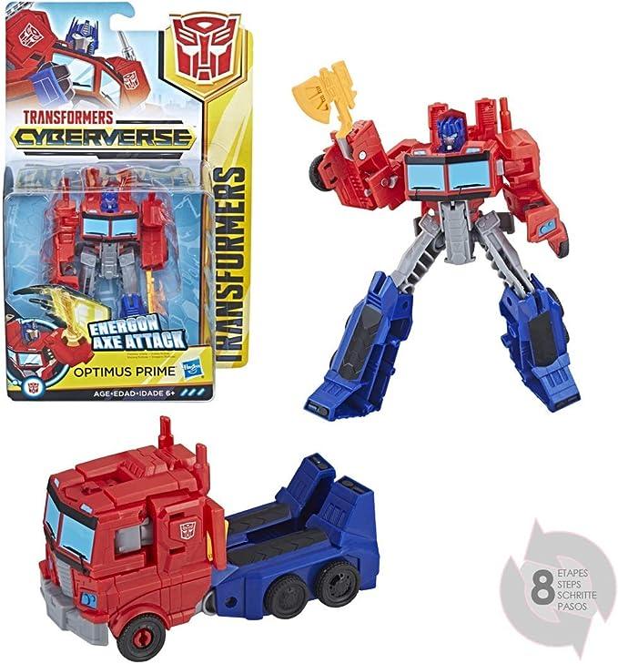 Transformers - Cyberverse Warrior Optimus Prime (Hasbro E1901ES0 ...