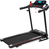 Best Choice Products Folding Treadmill with Manual Incline, Fitness Workout Exercise Machine w/Wireless Bluetooth…