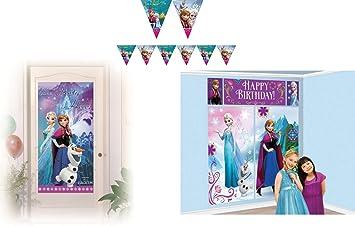 Disney Frozen - Niños Fiesta/Cumpleaños/Fiesta temática Set ...