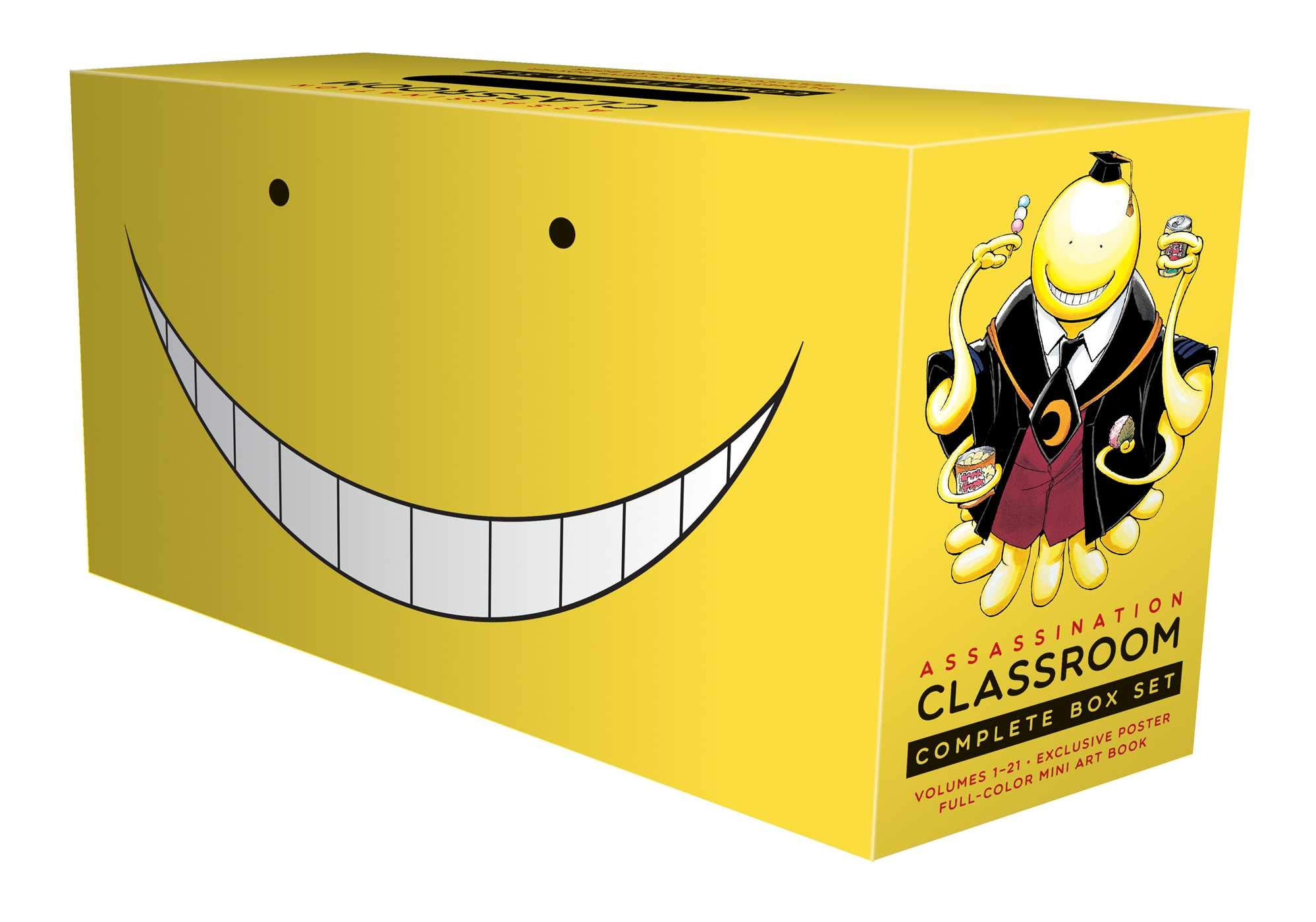 Assassination Classroom Complete Box Set: Includes volumes 1-21 with premium by VIZ Media LLC