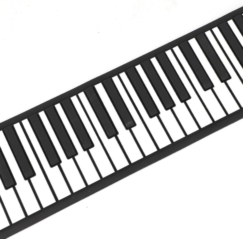 ADHW Portable 88 Keys Full Size Electronic Piano Keyboard Music Piano USB Plug