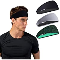 Sporthoofdbanden voor heren en dames - zweetband & sport hoofdband vochttransport workout zweetbanden voor hardlopen…