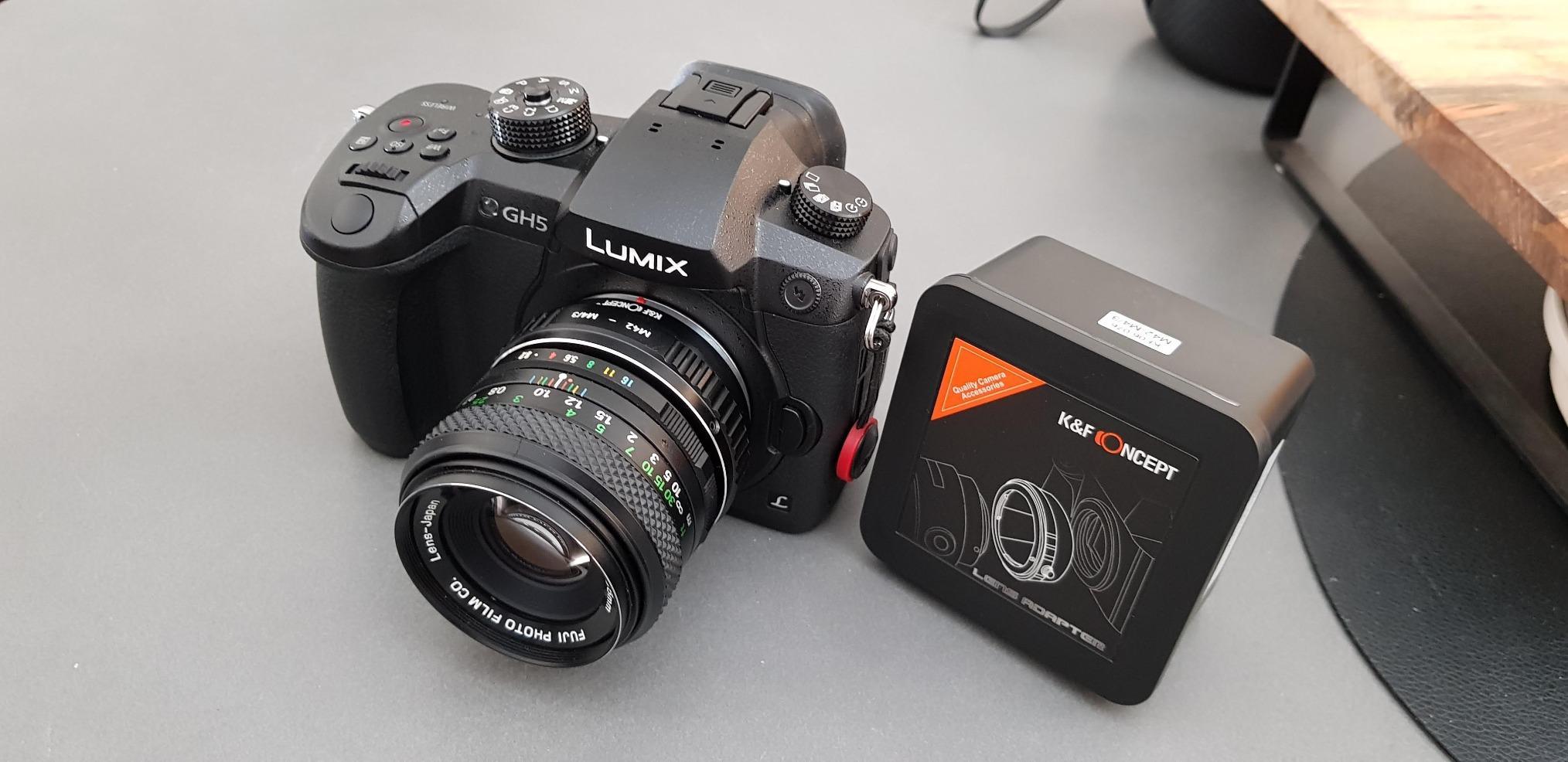 Gadget Career M42 Lens Adapter for Panasonic Lumix DC-G9