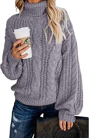 Oversized Women Long Sleeve Knit Cardigan Jumper Tops Loose Casual Sweater Dress