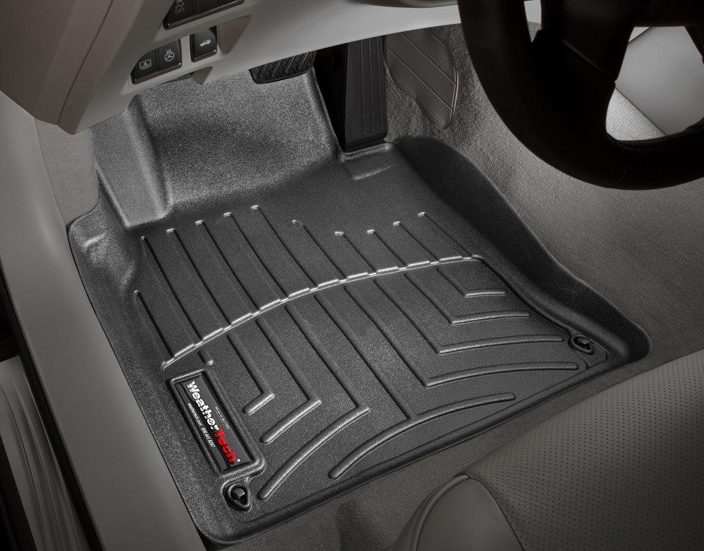 Weathertech floor mats amazon ca - Weathertech Custom Fit Front Floorliner For Land Rover Lr3 Range Rover Sport Black Floor Mats Amazon Canada