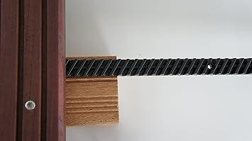 Frisch EUROTEC Distanzleiste für Terrassendielen, (1 Packung, 50 Stücke  YK51