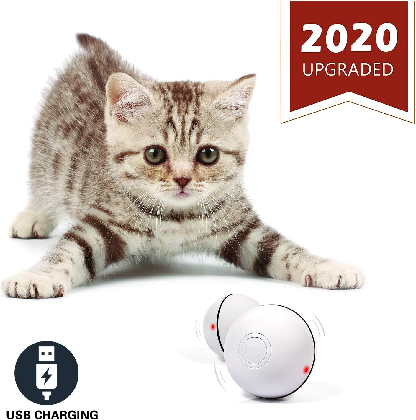 6. YOFUN Smart Interactive Cat Toy