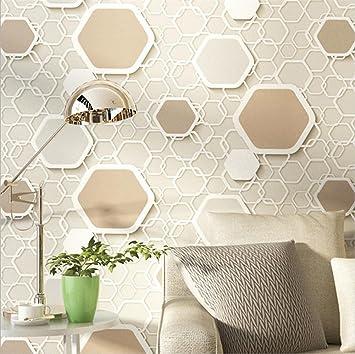 H&M Papel pintado de alta calidad de PVC moderno simple 3D personalizado lugar decoración de papel