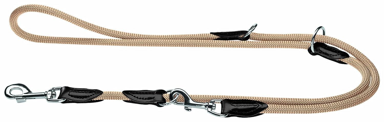 Hunter Verstellbare Freestyle Hundeführleine, Tau himbeer 0 8/200 cm 61538