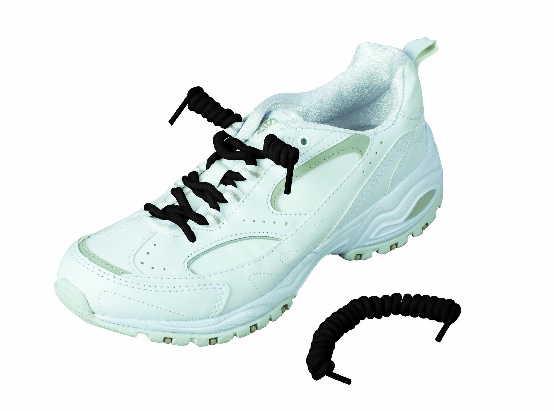 1a5ef28615148 Amazon.com: Healthsmart 640-9004-0001 - Coiler Shoe Laces, No Tie ...