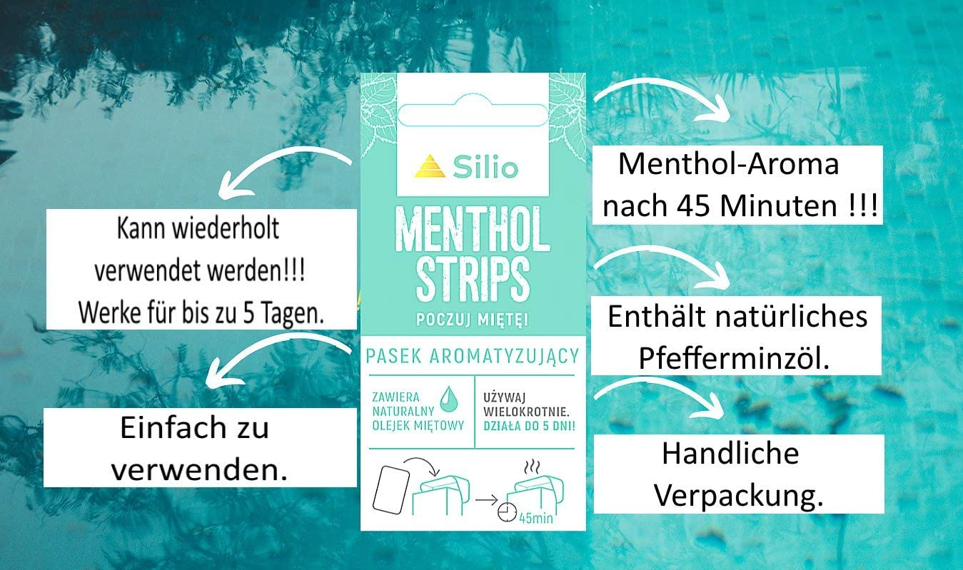Mint 25 x 1 Aromakarte Card Infusion Flavour Menthol Aroma nach 45 Minuten