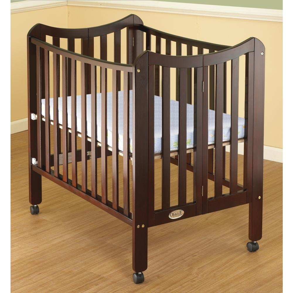 Amazon.com : Orbelle Trading The Tian 3 In 1 Portable Crib With Two Levels,  Natural : Baby