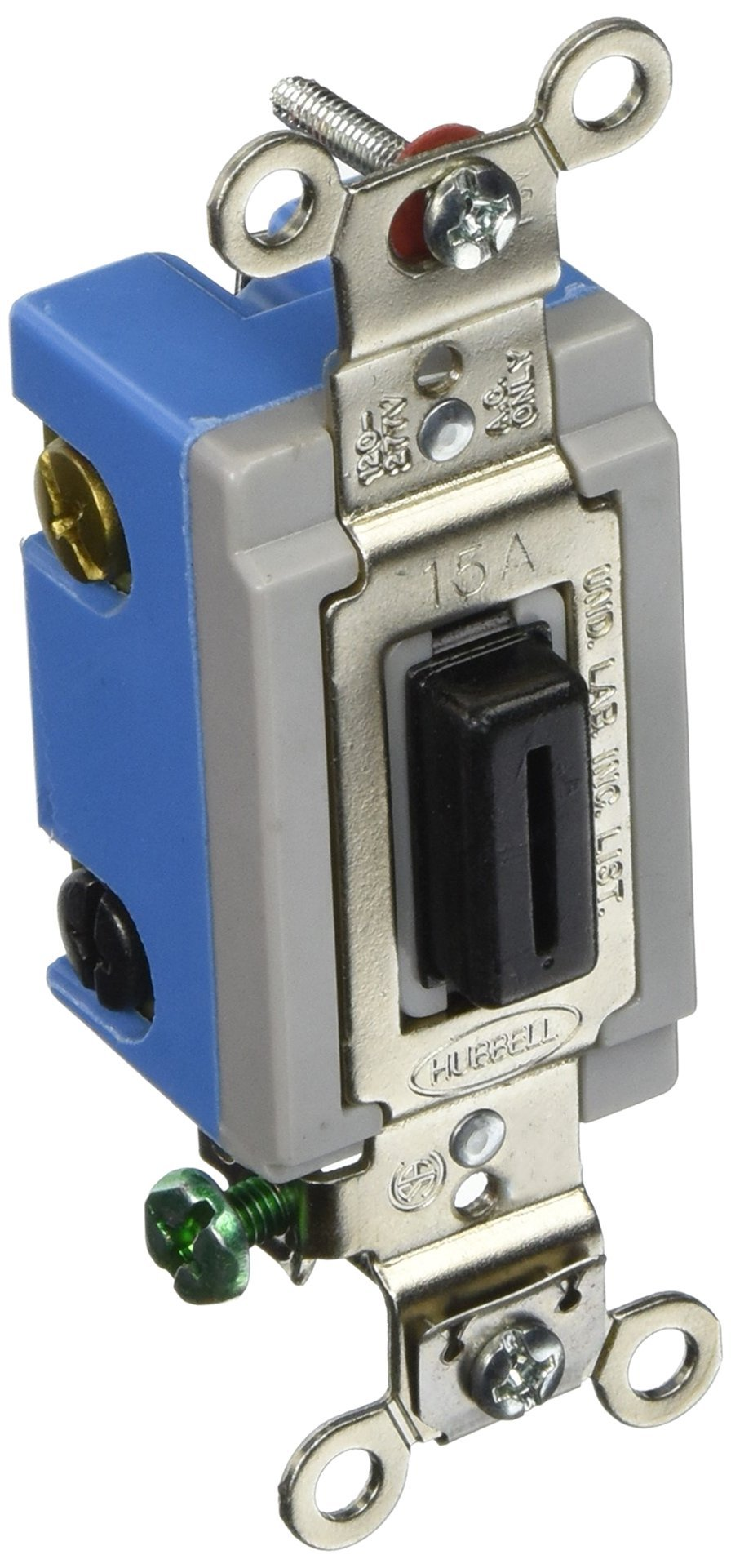 Hubbell HBL1204L 4 Way Toggle, Lock, Industrial Grade, 15 amp, 120/277V by Hubbell (Image #1)