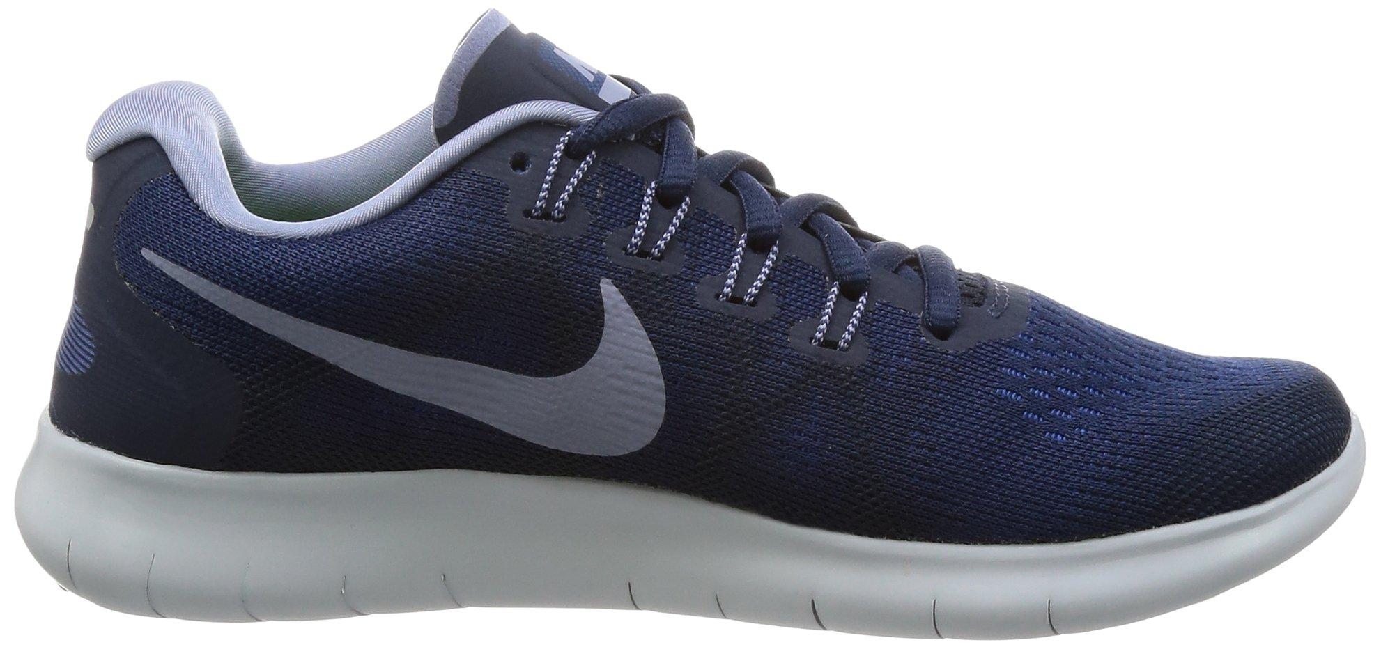 Nike Free RN 2017 Women's Running Shoes (6 M US, Binary Blue/Dark Sky Blue) by Nike (Image #6)