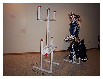 Amazon Com Hockey Drying Rack Tree Sports Equipment Accessories