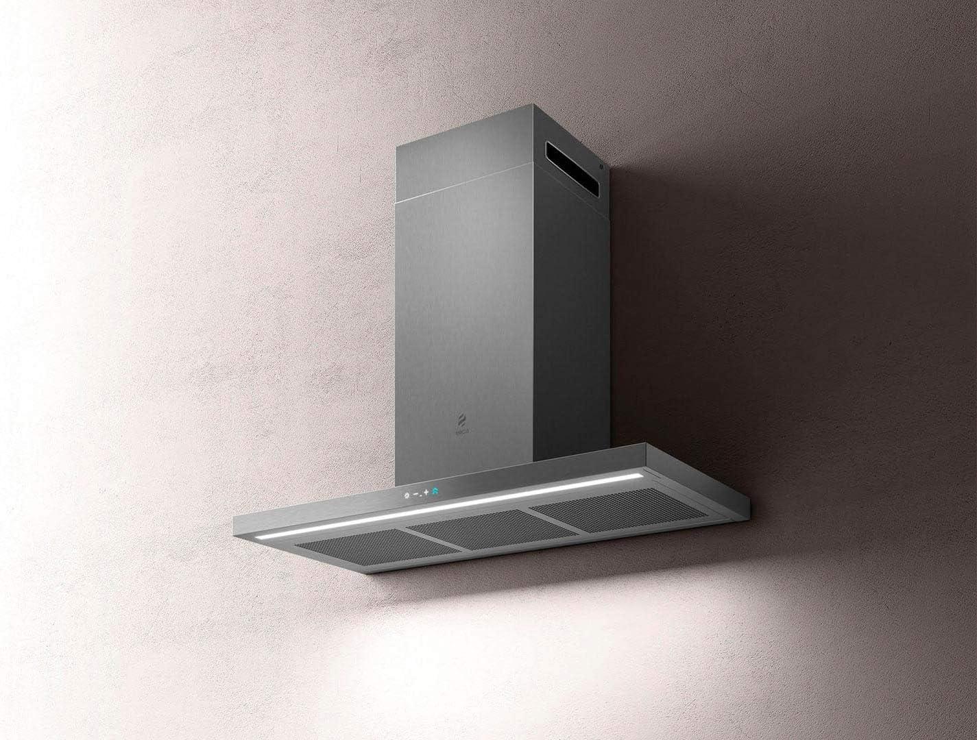 Elica Campana extractora de Cocina de Pared de 90 cm de Acero Inoxidable IX/A/90 Thin: Amazon.es: Grandes electrodomésticos