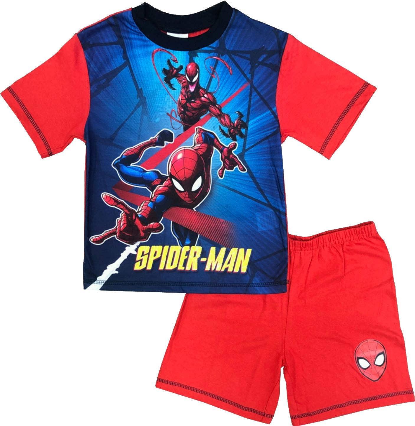 Marvel Pigiama estivo ragazzo Spiderman