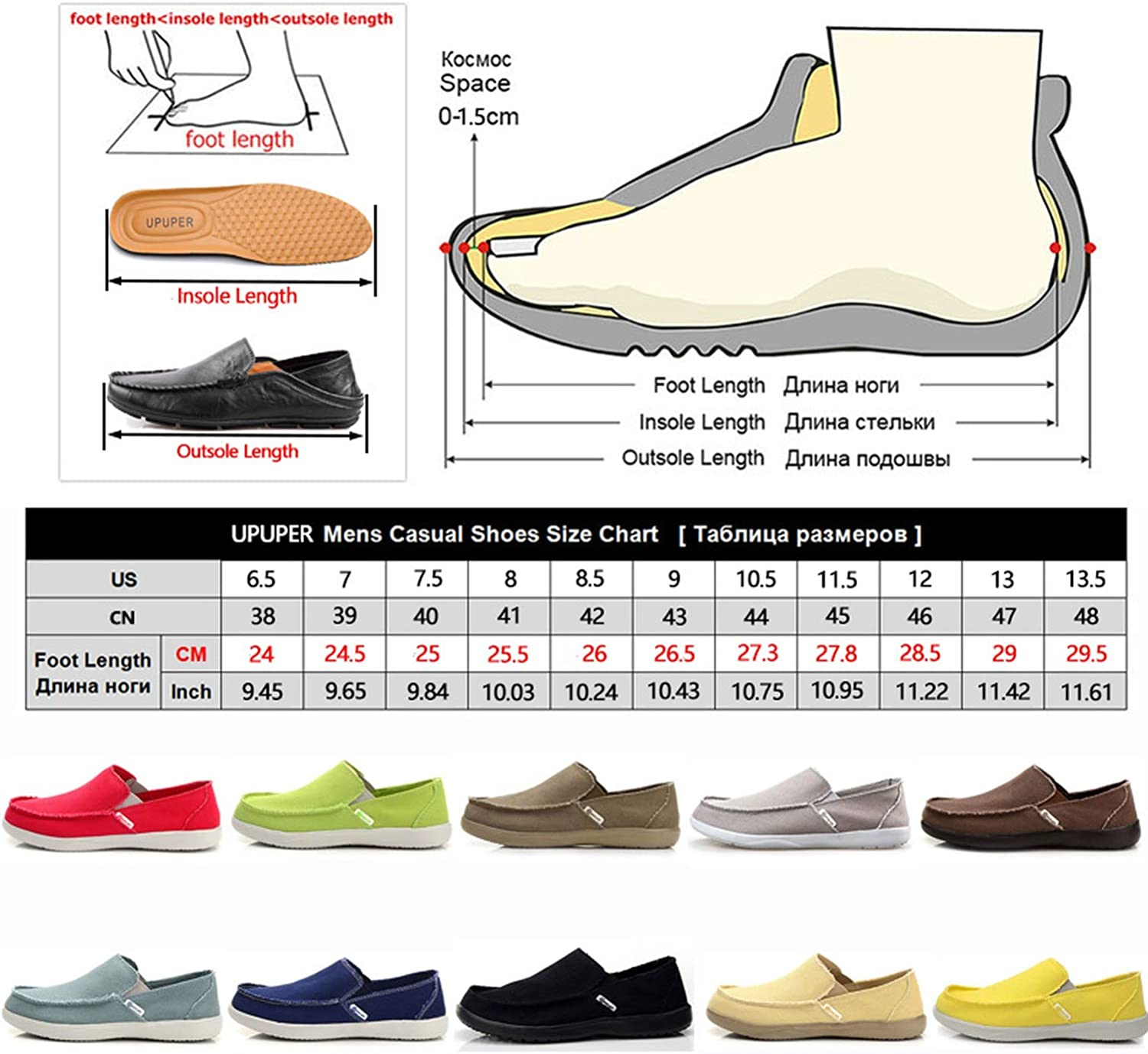Canvas Shoes Mens Sneakers Breathable Ultra-Light Loafers Slip-On Mens Casual Shoes Spring Walking Flat Shoes,1049 Khaki,7.5 Colorful Dream