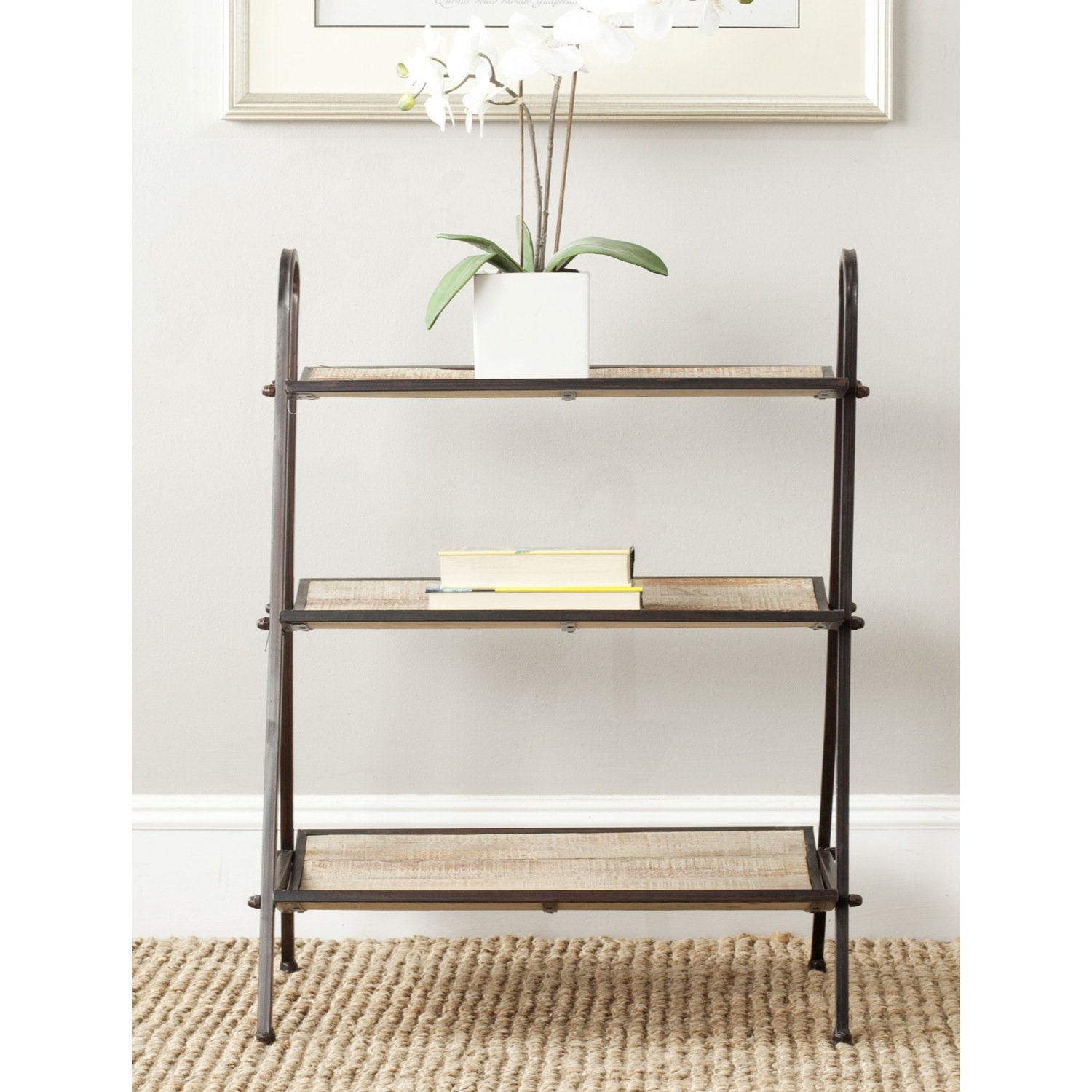 Safavieh American Homes Collection Oswald Natural Etagere