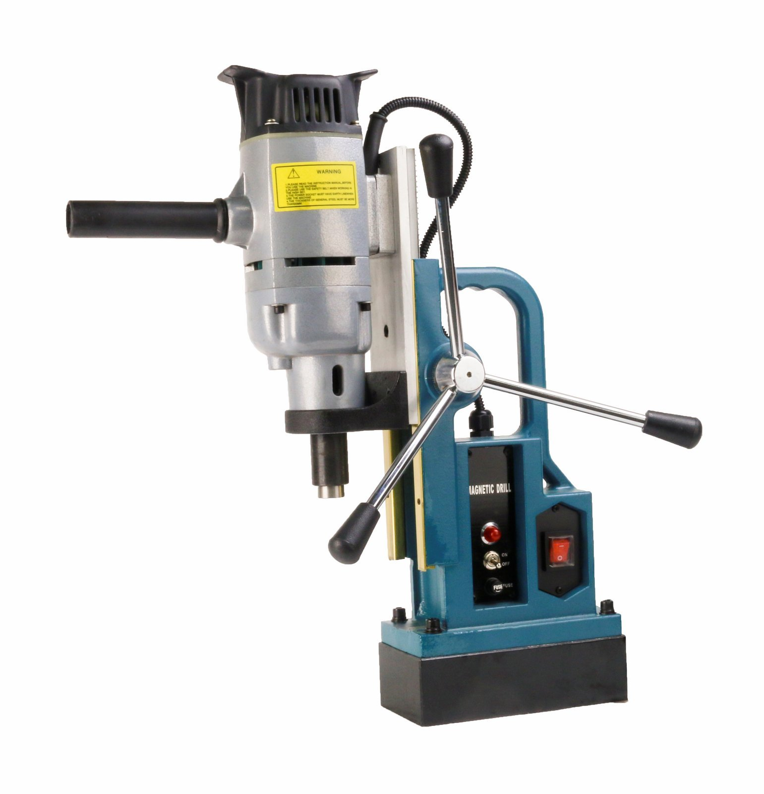 Steel Dragon Tools MD25 Magnetic Drill Press with 1'' Boring Diameter & 3372 lb Magnetic Force