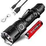 Klarus xt11gt CREE xhp35 HD E4 2000 lumens USB rechargeable lampe torche tactique lampe torche LED et niteelf Porte-clés