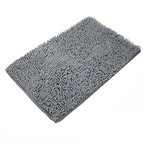 Coral Bath Rug For Bathroom, Lehom 16u0027u0027x 24u0027u0027 Chenille Bath