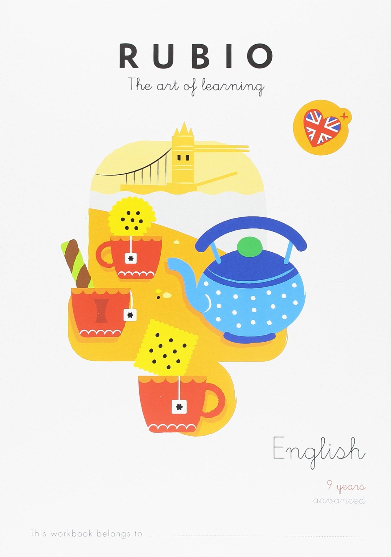 RUBIO THE ART OF LEARNING: ENGLISH 9 YEARS ADVANCED: Amazon.es ...