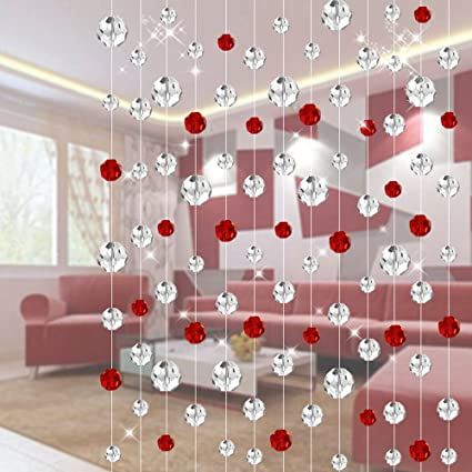 Buy StringsEach MeterCrystal Bead Curtain For Living Room - How to create a commercial invoice online bead stores
