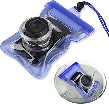 Funda acuatica bolsa submarina foto agua resistente para camara digital Nikon: Amazon.es: Electrónica