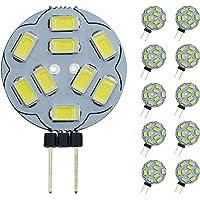 Pocketman t Dimbara G4 LED-glödlampor, 20 W ersättning för halogenljus, DC 12 V 200 LM G4 LED-glödlampor, paket med 10…