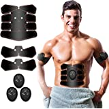 Antmona Abs Stimulator, Muscle Toner - Abs Stimulating Belt- Abdominal Toner- Training Device for Muscles- Wireless…