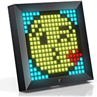 Divoom Pixoo Digital Frame with App Controlled 16X16 LED Screen (Black)