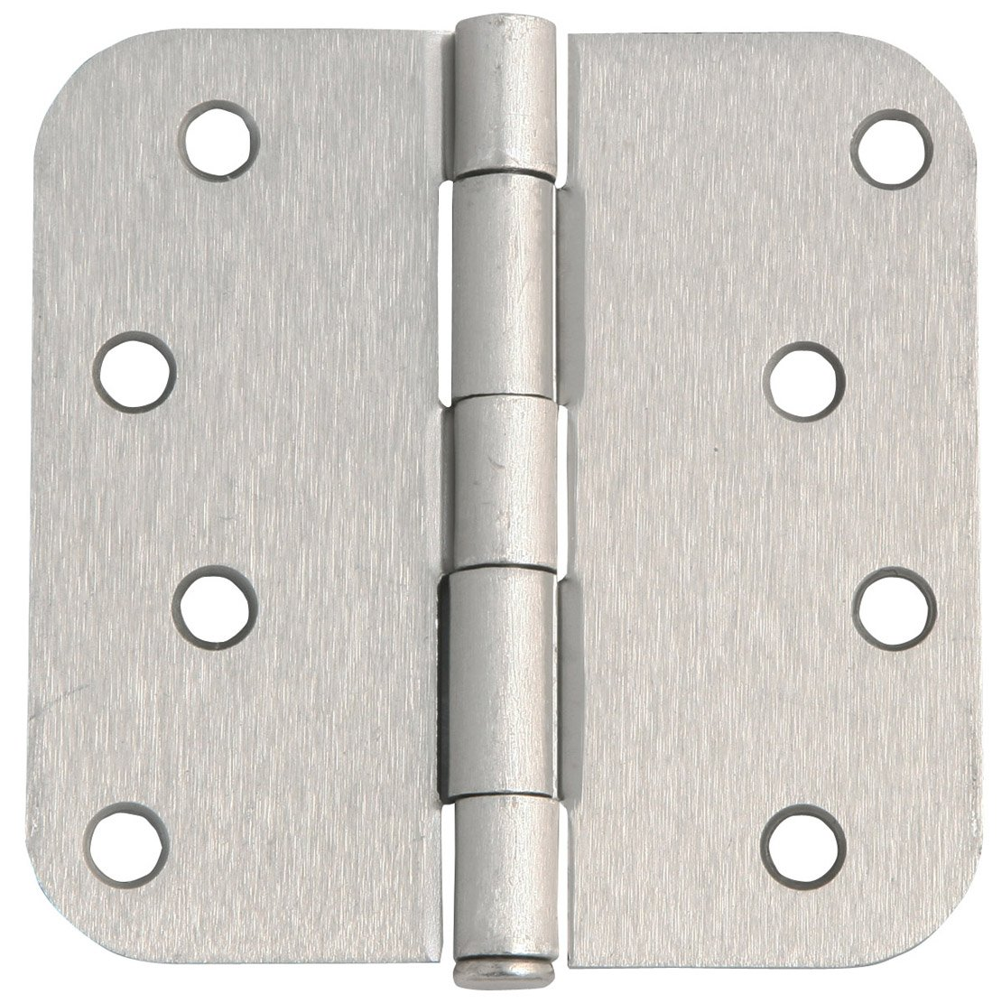 Design House 202572 8-Hole Door Hinge 4'', Satin Nickel, 4'' X 4''