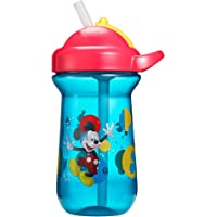 The First Years Mickey Mouse Flip Top Straw Cup