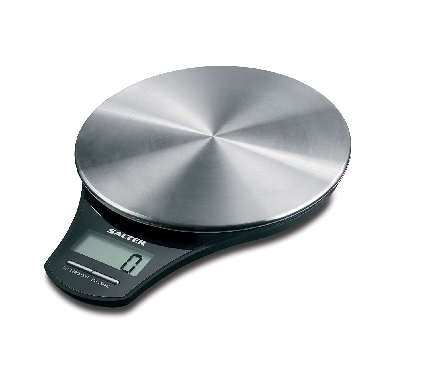 Small Kitchen Weighing Scales Stainless Steel Platform Electronic Kitchen Scale By Salter