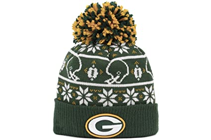 81dd9aa1 Green Bay Packers NFL Sweater Chill Knit Hat
