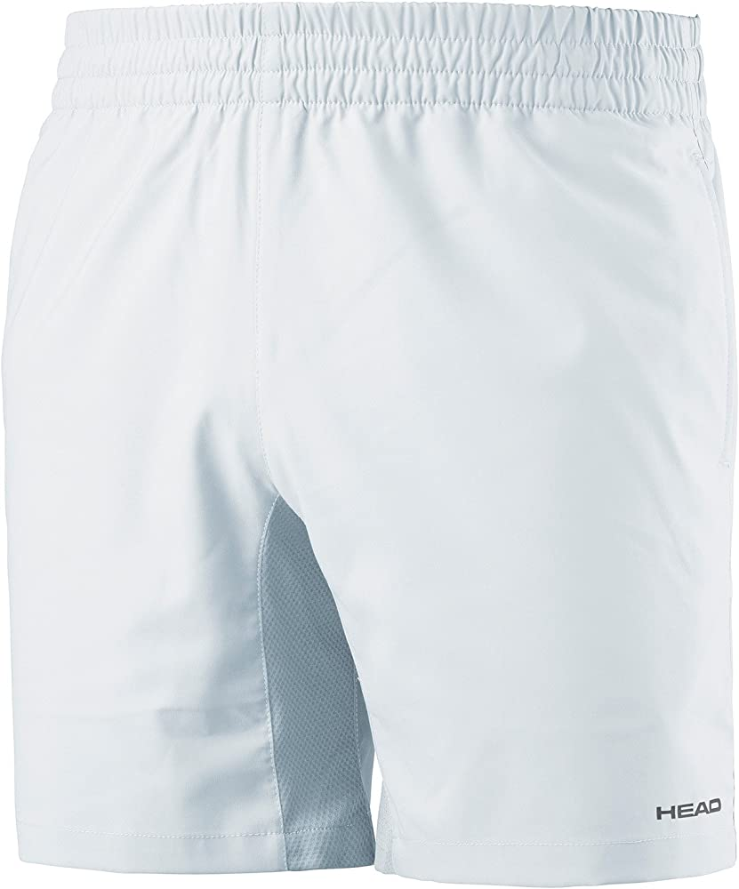 PANTALONES HEAD CLUB SHORT M BLANCO 811767 WH: Amazon.es: Deportes ...