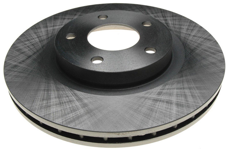 ACDelco 18A2446A Advantage Non-Coated Front Disc Brake Rotor