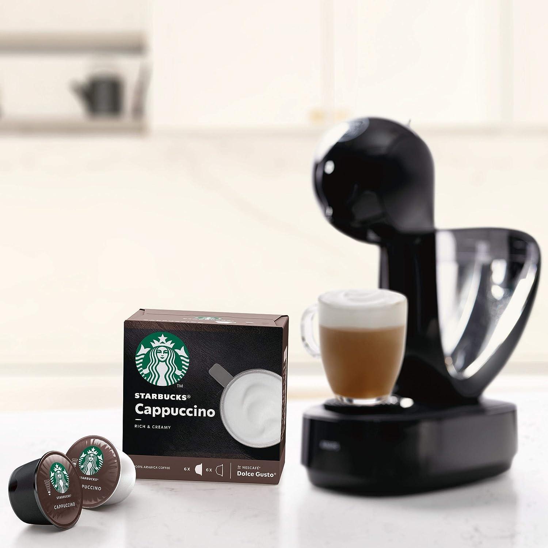 STARBUCKS Cappuccino De Nescafe Dolce Gusto Cápsulas De Café, 6 X ...